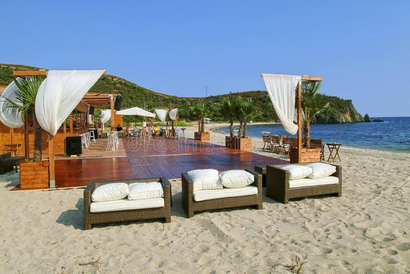 Spiaggia della Chalkidiki immagine stock