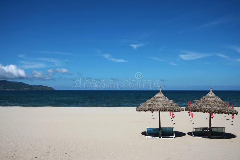 Spiaggia della Cina nel Vietnam fotografie stock libere da diritti