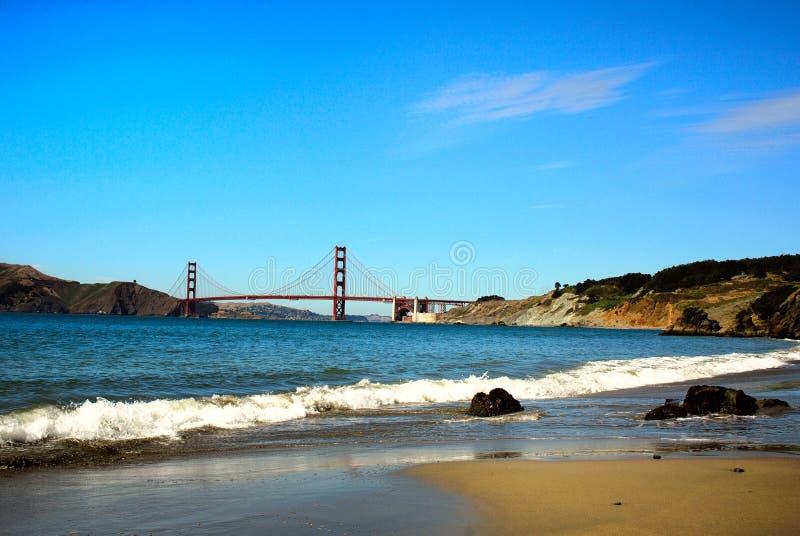 Spiaggia della città fotografie stock libere da diritti