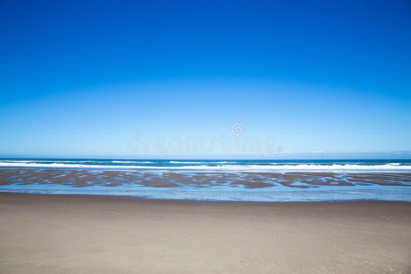 Spiaggia della costa dell'Oregon fotografia stock libera da diritti