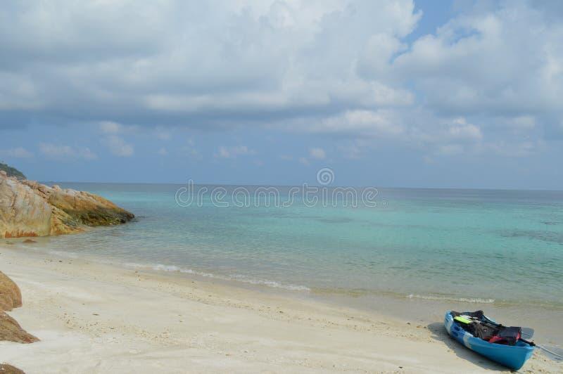 Spiaggia della ripresa esterna di paradiso fotografie stock