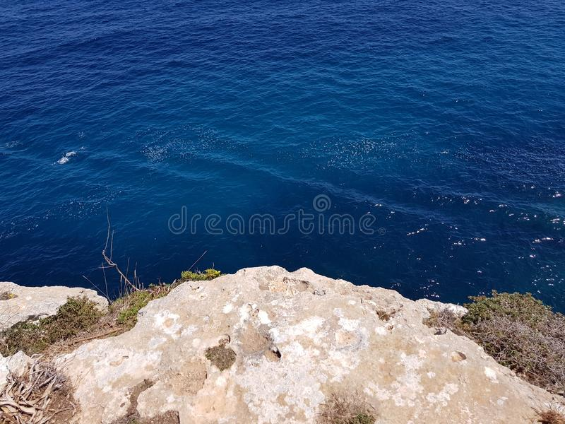 Spiaggia della roccia immagine stock libera da diritti