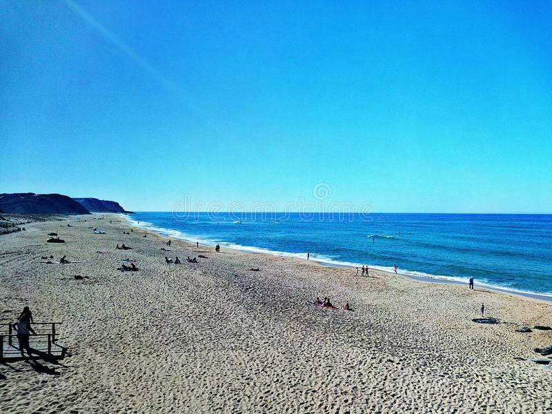Spiaggia della Santa Rita fotografia stock libera da diritti
