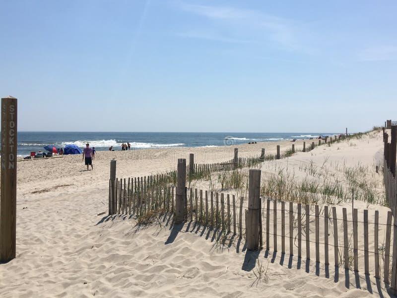 Spiaggia della spiaggia fotografia stock libera da diritti
