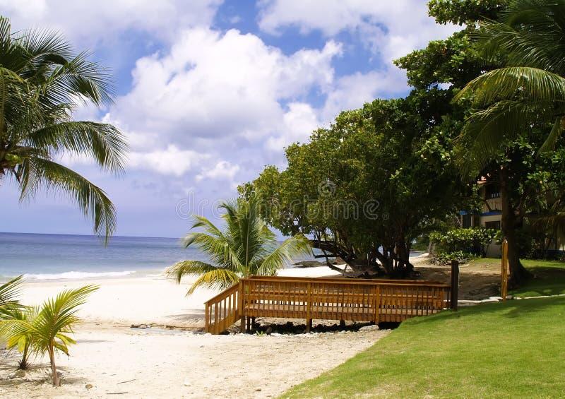 Spiaggia della st Croix fotografia stock