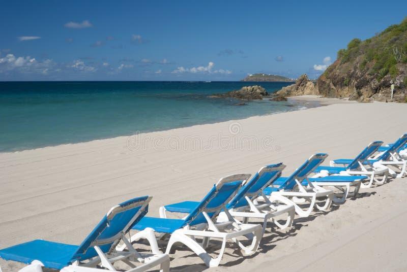 Spiaggia della st Thomas immagine stock