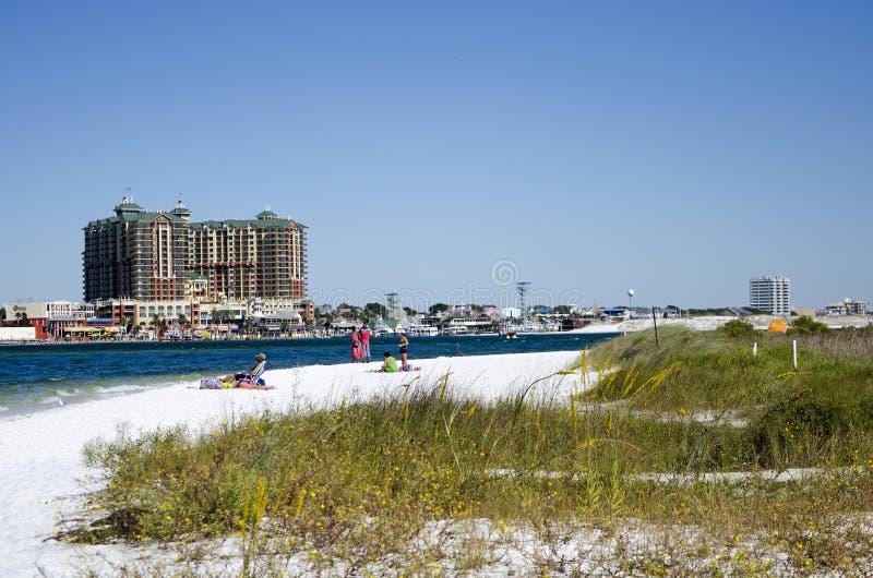 Spiaggia a Destin Florida U.S.A. immagine stock libera da diritti