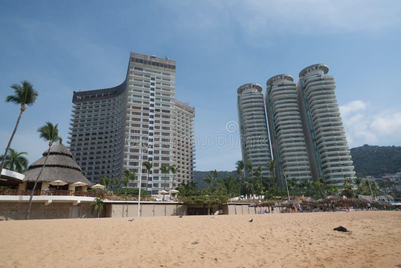 Spiaggia di Acapulco immagine stock libera da diritti