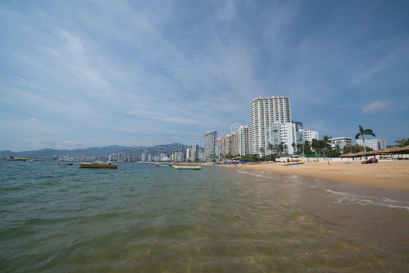 Spiaggia di Acapulco fotografia stock