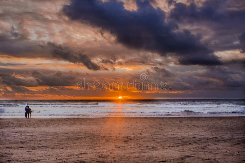 Spiaggia di Agadir immagine stock libera da diritti