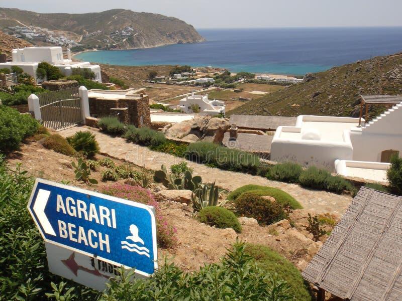 Spiaggia di Agrari immagine stock libera da diritti