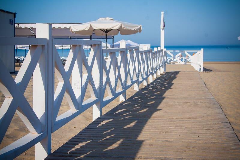 Spiaggia di Anapa, Russia immagini stock libere da diritti