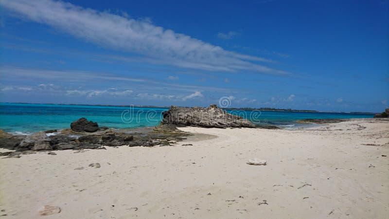 Spiaggia di Atlantide fotografia stock