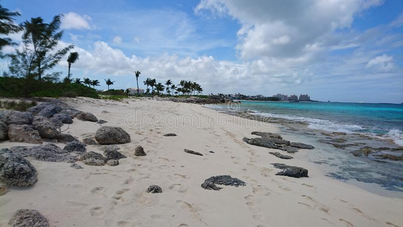 Spiaggia di Atlantide fotografia stock libera da diritti