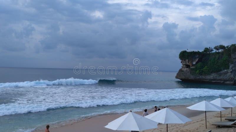 Spiaggia di Balangan fotografie stock