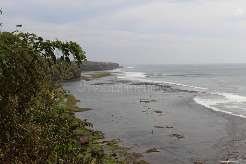Spiaggia di Bali fotografie stock
