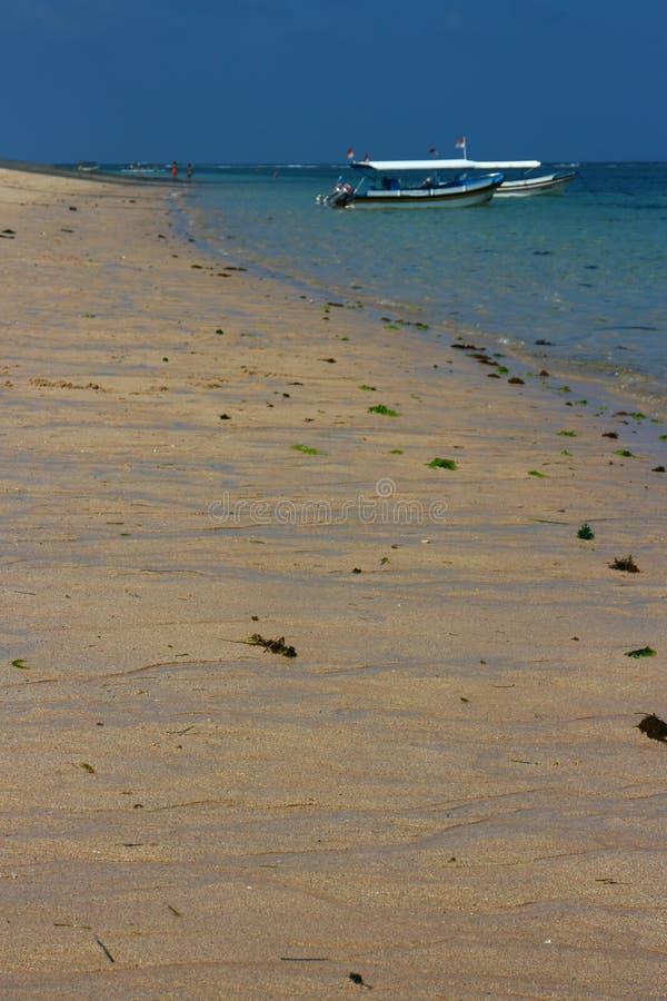 Spiaggia di Bali fotografia stock libera da diritti