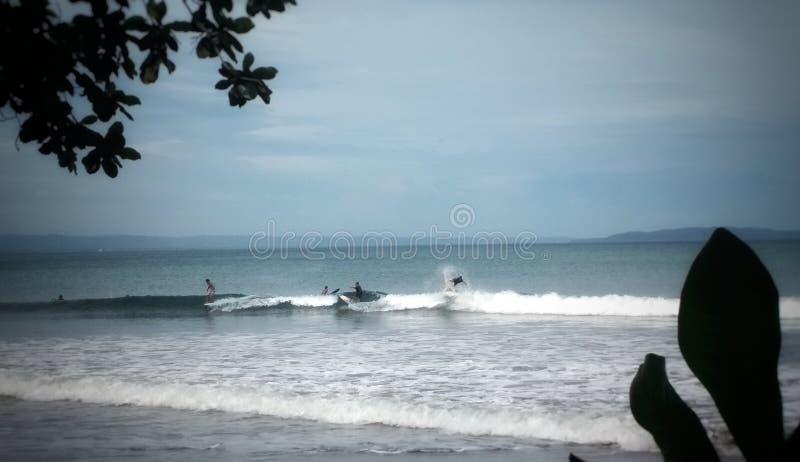 Spiaggia di Batu Karas fotografia stock