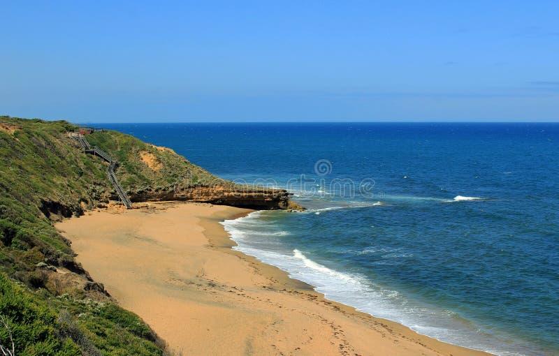 Spiaggia di Belhi in Australia fotografia stock