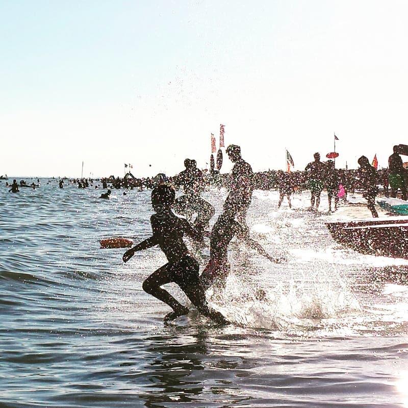 Spiaggia di Bibione immagine stock libera da diritti