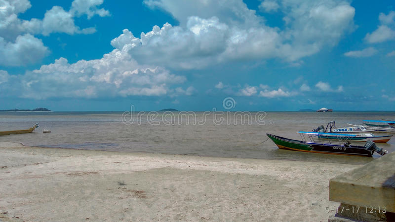 Spiaggia di Bintan fotografie stock libere da diritti