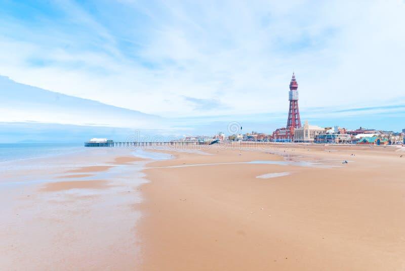 Spiaggia Di Blackpool Immagine Editoriale
