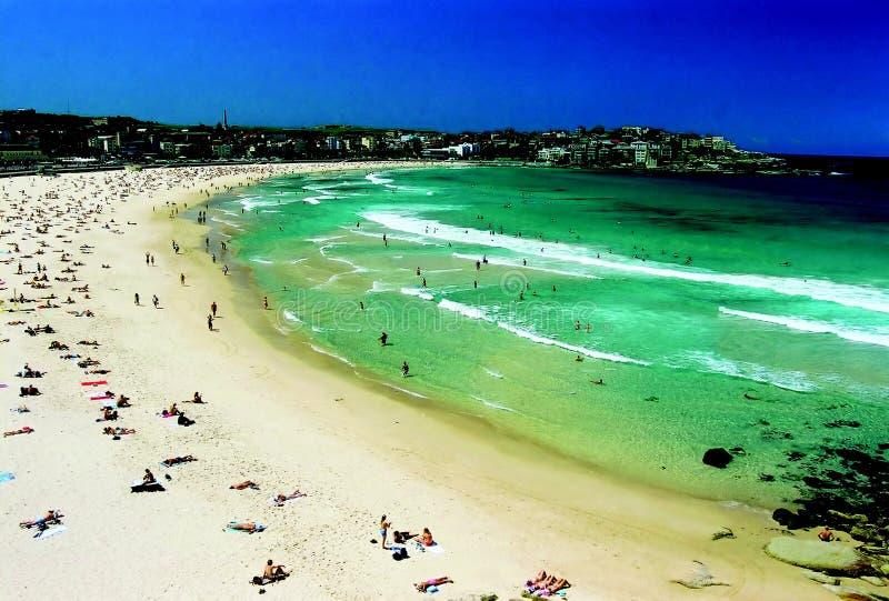 Spiaggia di Bondi immagini stock