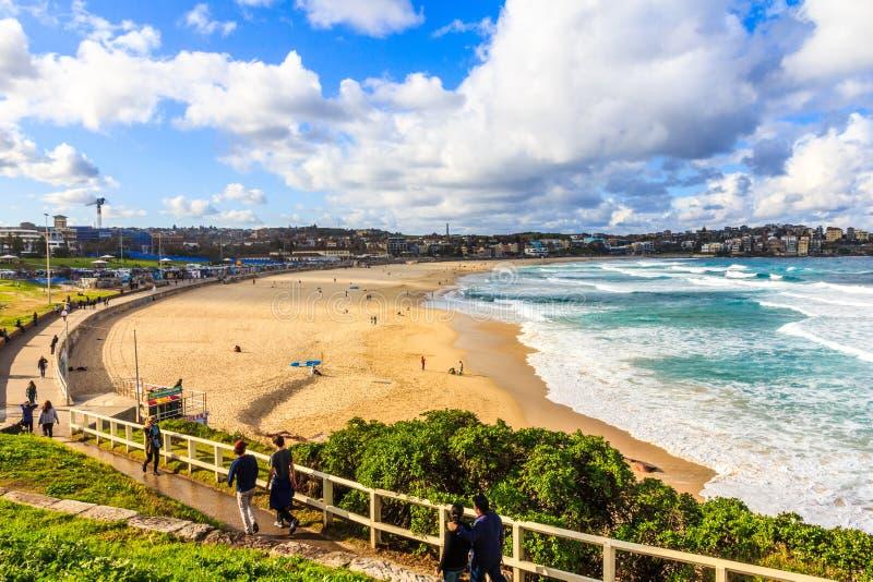Spiaggia di Bondi, Nuovo Galles del Sud fotografie stock