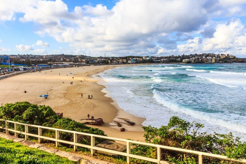 Spiaggia di Bondi, Nuovo Galles del Sud immagine stock libera da diritti