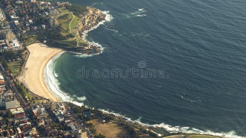 Spiaggia di Bondi, Sydney, Australia fotografie stock