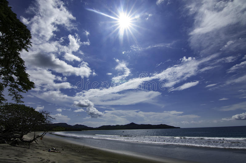 Spiaggia di Brasilito immagine stock