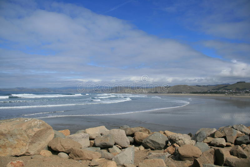 Spiaggia di California fotografie stock libere da diritti