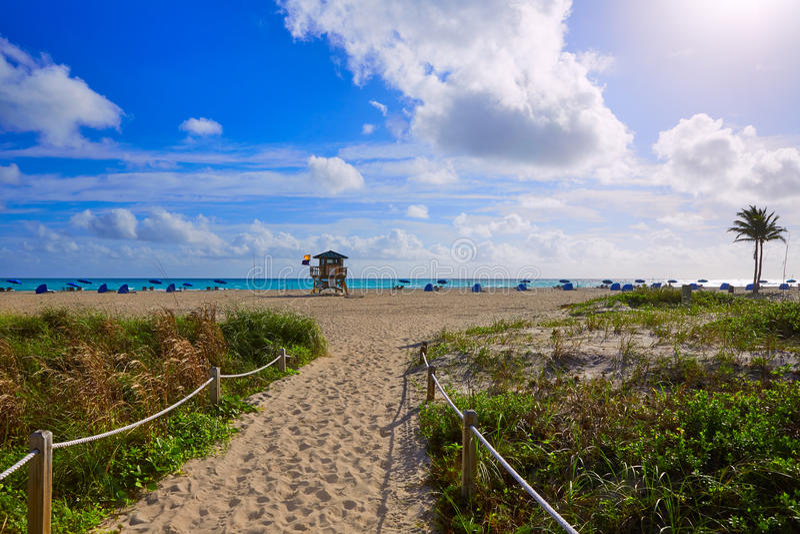 Spiaggia di Cantante Island al Palm Beach Florida Stati Uniti fotografie stock