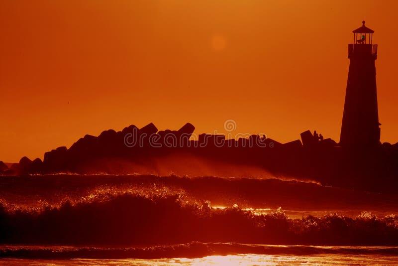 Spiaggia di Capitola fotografie stock