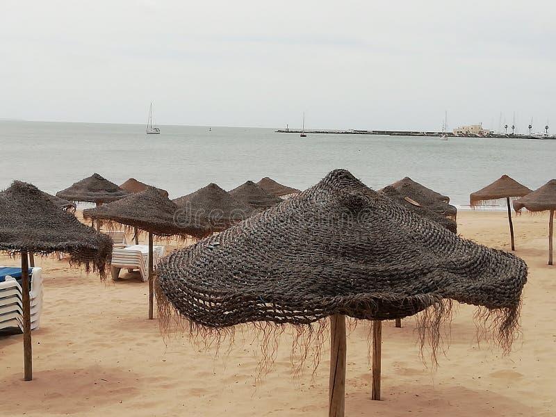 Spiaggia di Cascais Lisbona immagine stock