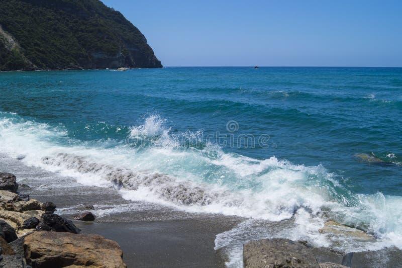 Spiaggia di Citara, ischi immagini stock libere da diritti