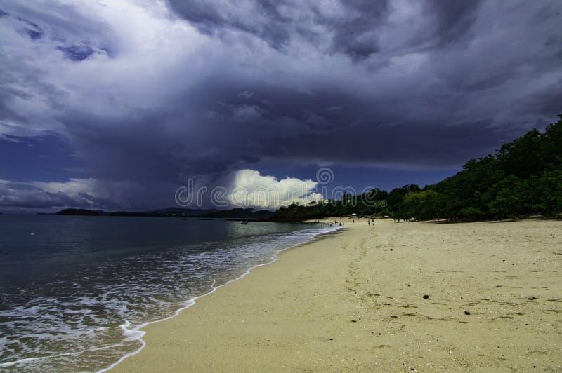Spiaggia di Conchal fotografie stock