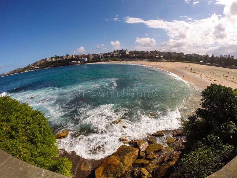 Spiaggia di Coogee fotografia stock