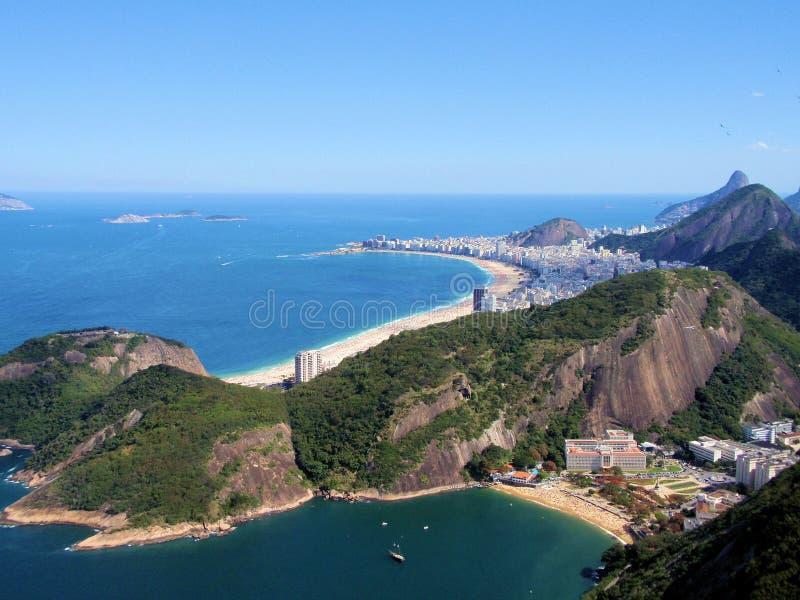 Spiaggia di Copacabana fotografie stock libere da diritti