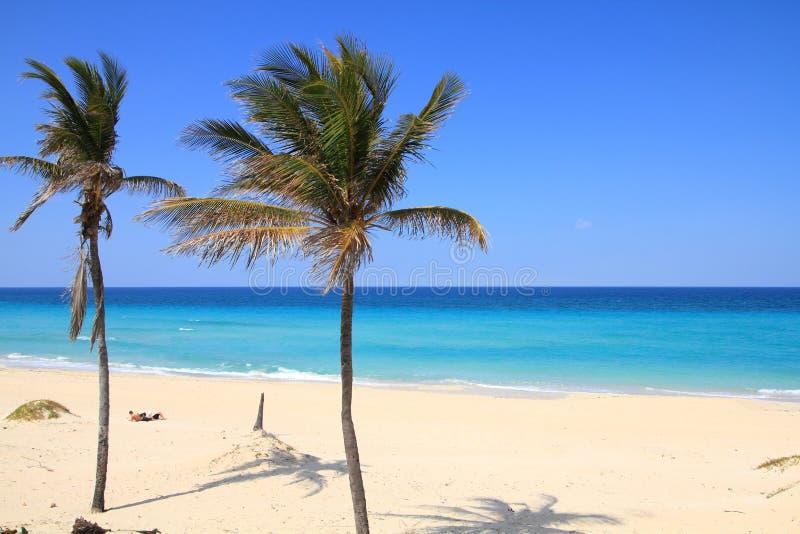 Spiaggia di Cuba immagini stock