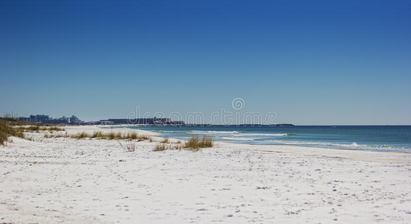 Spiaggia di Destin in Florida fotografie stock