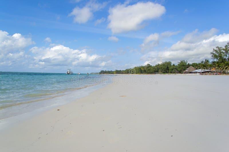 Spiaggia di Diani, Kenya immagini stock