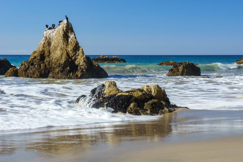 Spiaggia di EL matador immagini stock libere da diritti