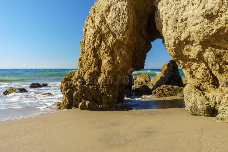 Spiaggia di EL matador immagine stock