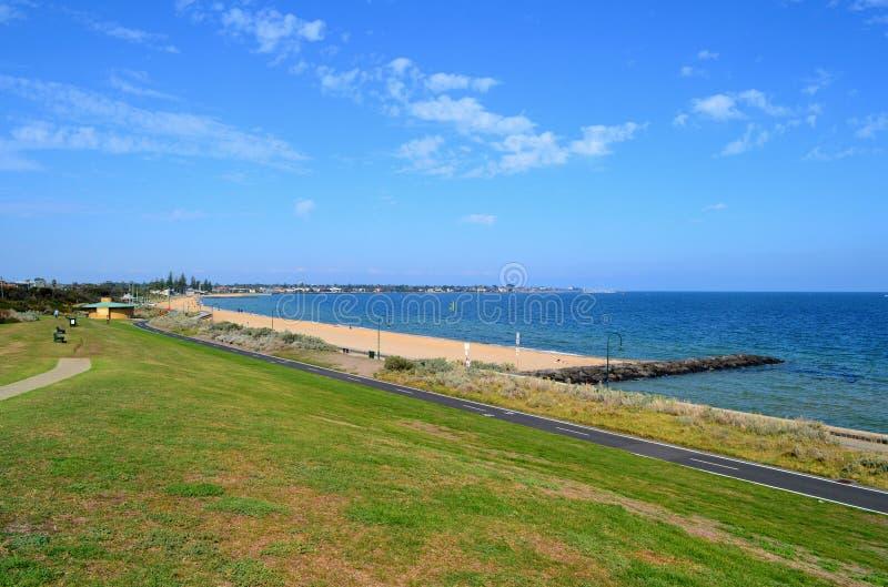 Spiaggia di Elwood immagine stock