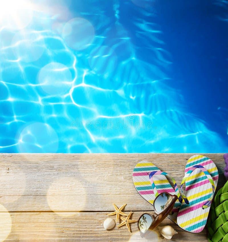 Spiaggia di estate dell'AR fotografia stock libera da diritti