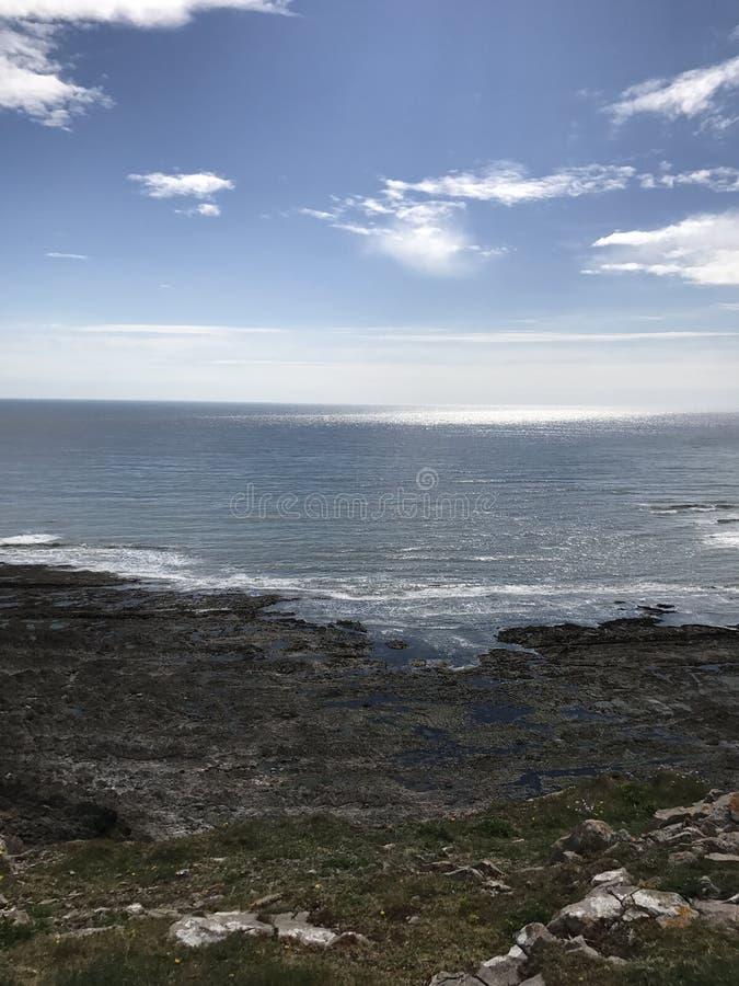 Spiaggia di Eyon del porto fotografie stock libere da diritti