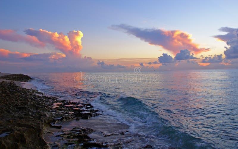 Spiaggia di fantasia fotografia stock