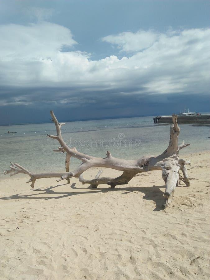 Spiaggia di Filippine fotografia stock libera da diritti