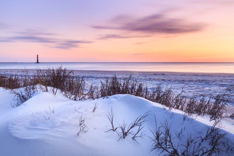 Spiaggia di follia, Carolina del Sud fotografia stock